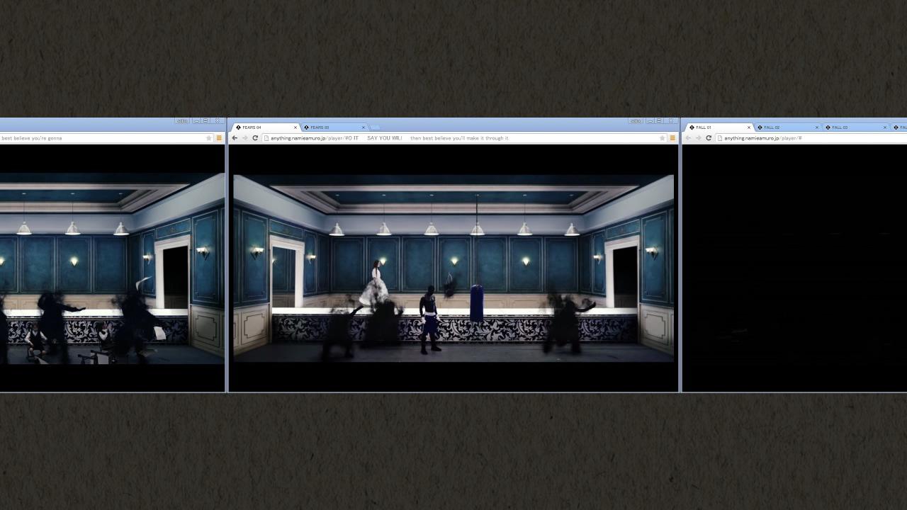 安室奈美恵の[Anything]PV Chrome拡張バージョンがすごいというか面白い!