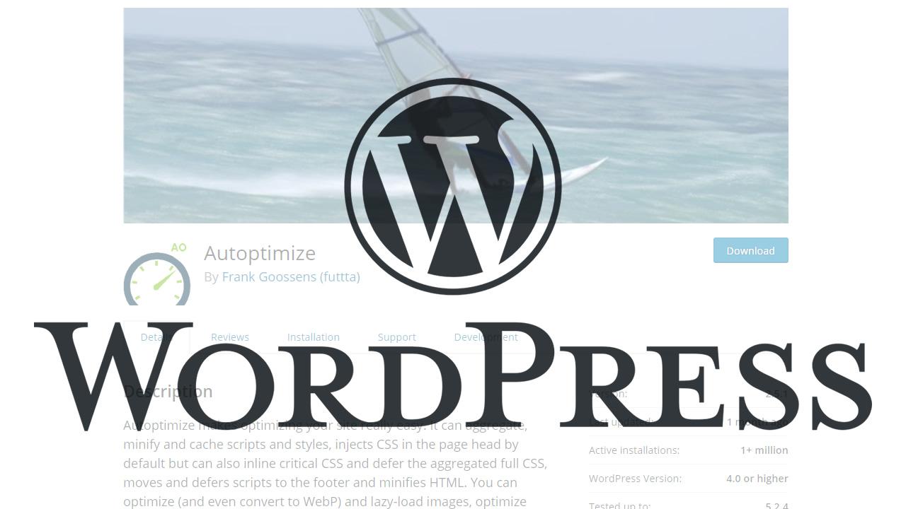 html・css・javascriptを圧縮して軽量化するwordpressプラグイン「Autoptimize」