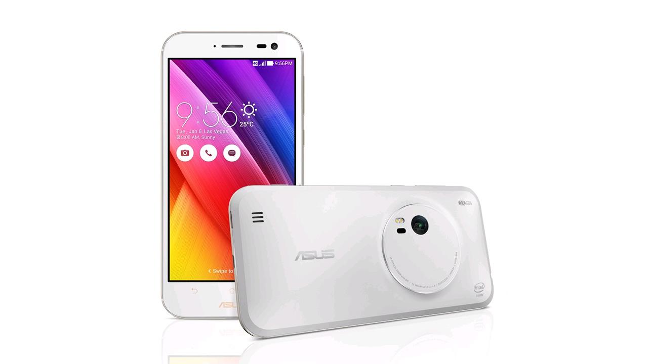 「ASUS ZenFone Zoom」光学3倍ズームカメラ搭載SIMフリースマホ