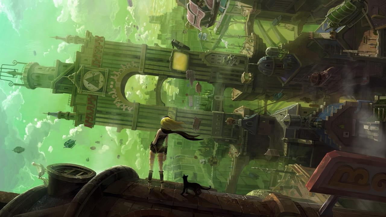 GRAVITY DAZE(PS4)が超面白かったので感想をば!