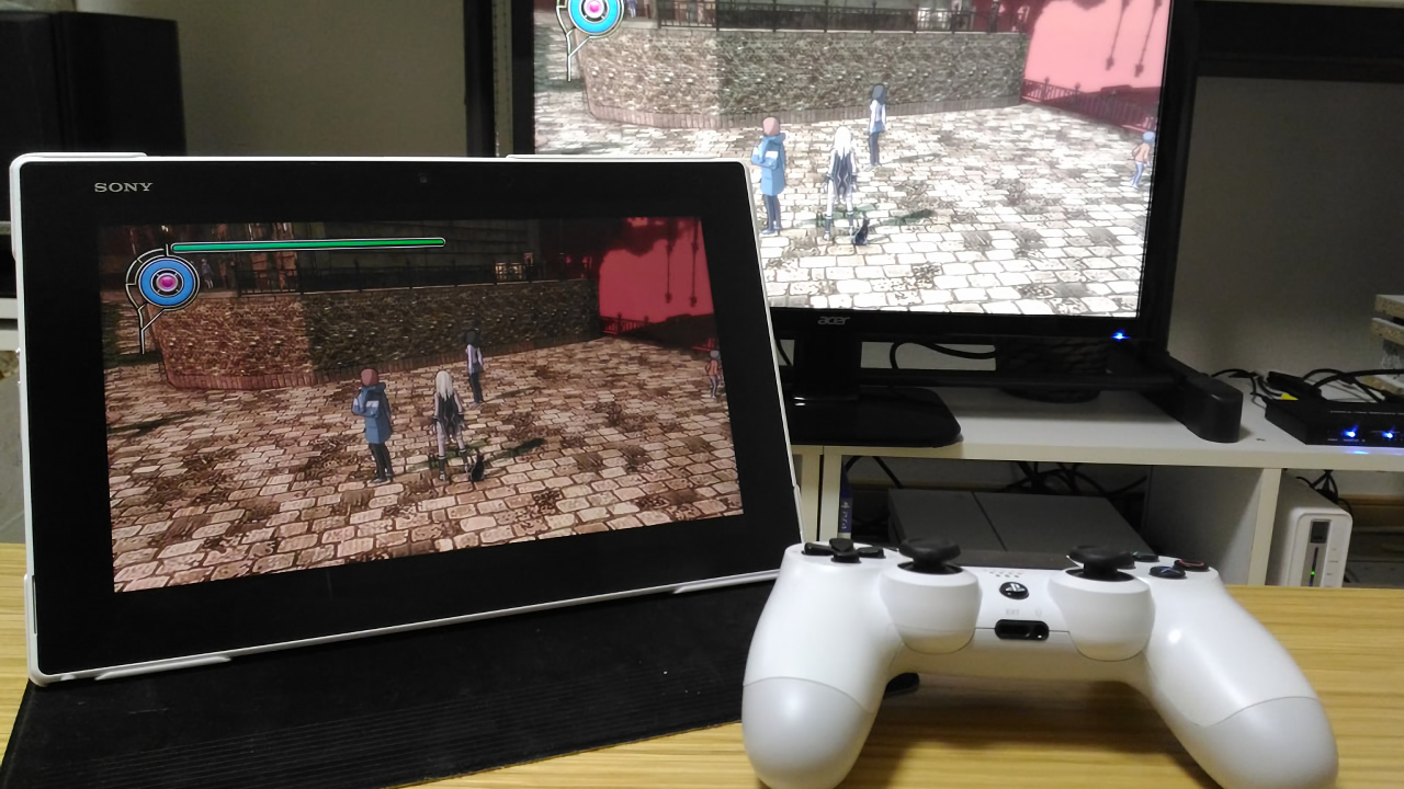 PS4のリモートプレイでアクションゲームはやっぱり無理があった