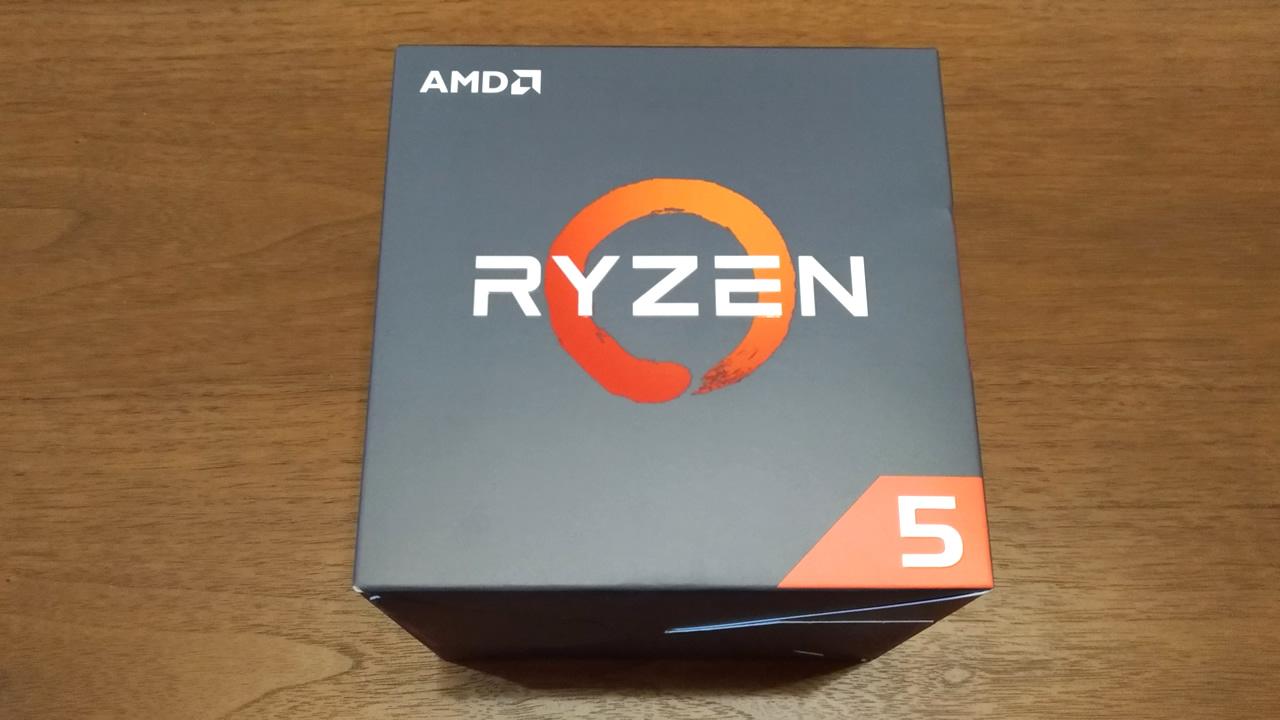 AMD RYZEN5 2600Xを購入!core i7 6700Kからの換装