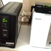無停電電源装置(UPS)オムロンBY50Sを購入!これで停電になっても安心♪