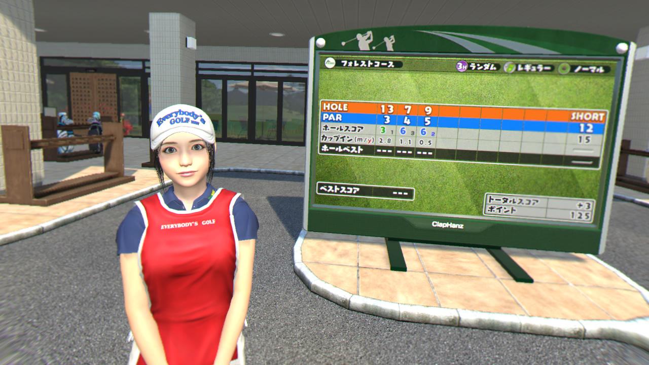 みんなのGOLF VRが超面白い!リアルスイングで爽快にプレイ!