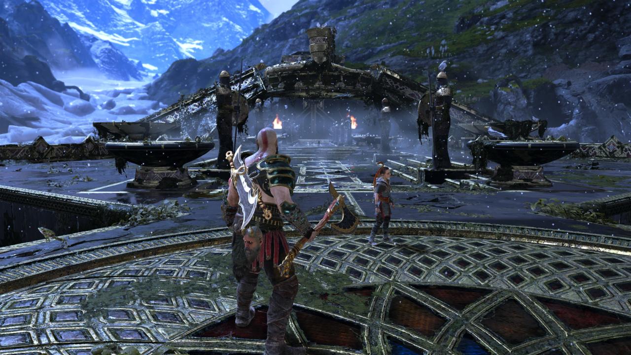 今更ながらGOD OF WARをプレイ!まさに神ゲー!PS4最高峰のゲームでした。あとヴァルキュリアが強すぎた。