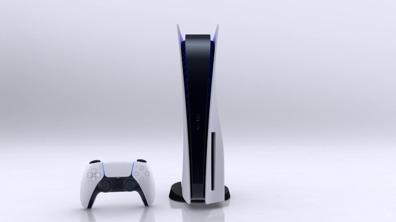 ついにPS5のデザイン公開!未来的でかっこいい…のか?ディスクドライブなしモデルも出る模様