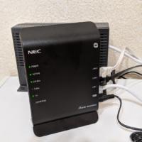 OCNバーチャルコネクト対応ルーター「Aterm WG1200HS3」を導入!IPv4接続の遅さが改善!