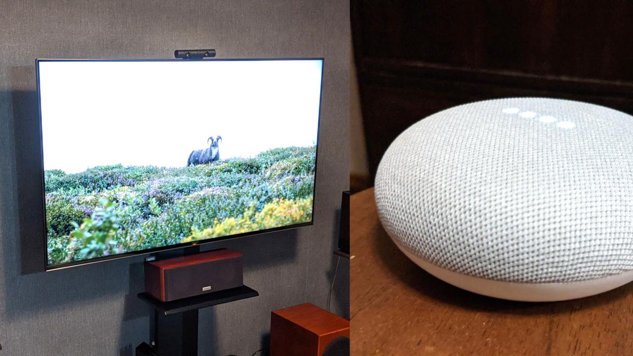 BRAVIA(AndroidTV)をGoogle Nest(Home)から操作したいけどイマイチうまくいかない。