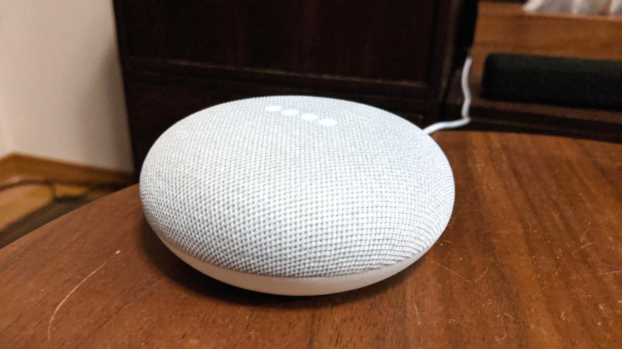 Google Nest miniを買ってみた。先代のHome miniと比べてどうなの?