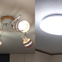 +Style OriginalのGoogleアシスタント対応スマート照明(電球・シーリングライト)を設置。スマホ・音声で一括操作出来たりとめっちゃ便利になった!