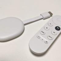 Chromecast with GoogleTVを購入。AndroidTVでの問題は解消!赤外線も使えるリモコンはコンパクトで超優秀!