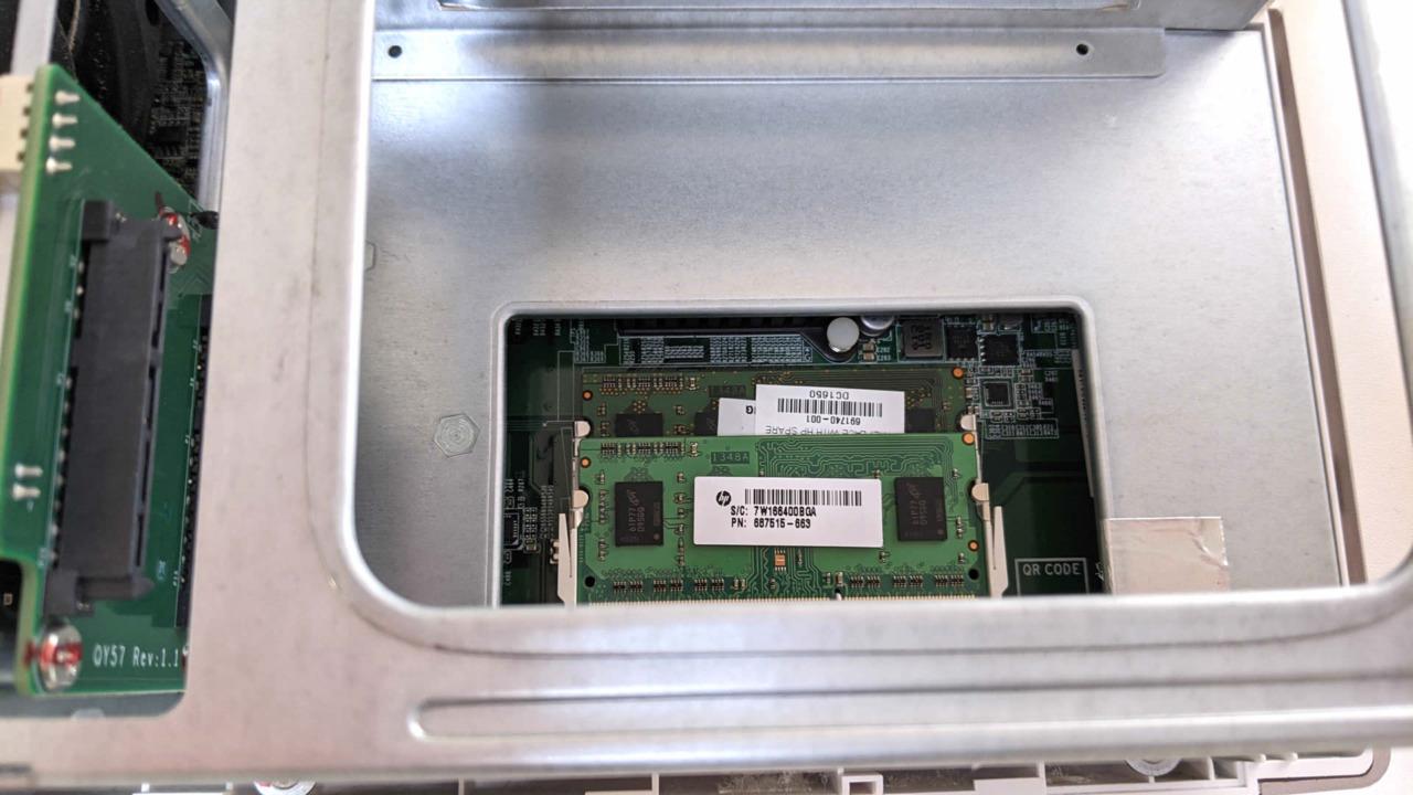 QNAPのNAS「TS-251B」のメモリを2GBから8GBに増設する!