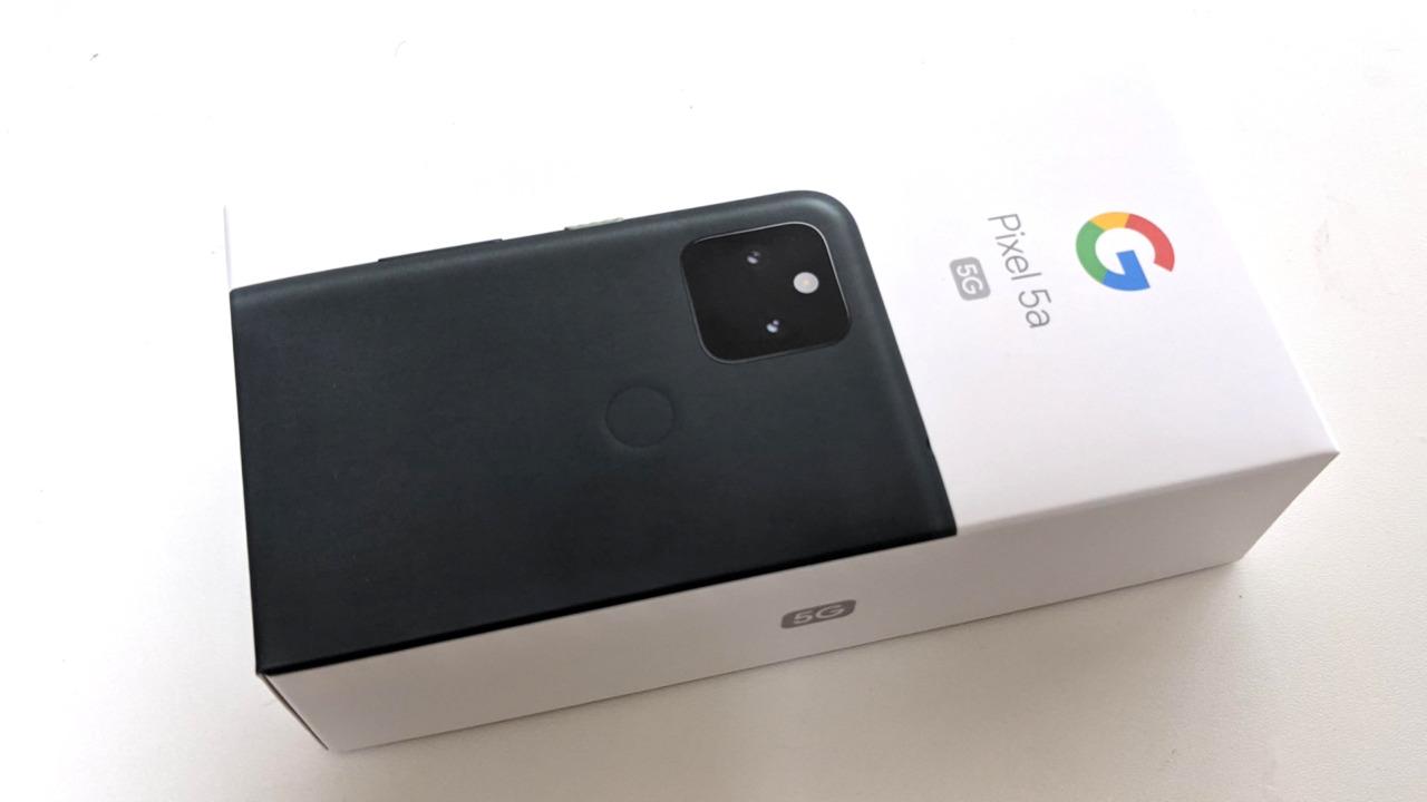 Pixel 5a(5G)を購入したのでその感想。Pixel 3a XLからの移行はいかほど?